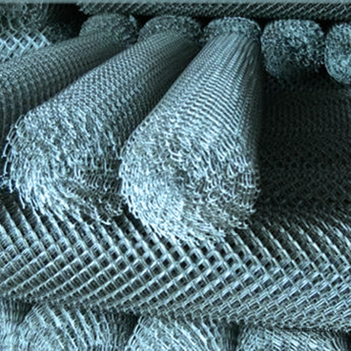 Сетка рабица 50х50 10м х 1,5м, d.3 мм