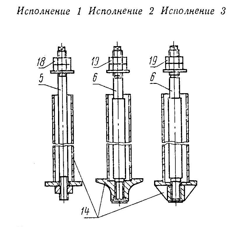 Болты ГОСТ 24379.1-80 тип 4